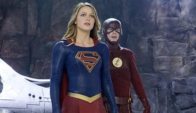 Supergirl & The Flash ortak bölümünden uzun tanıtım geldi