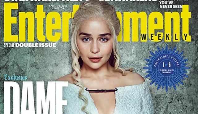 Game of Thrones'un kadın oyuncuları EW'ya kapak oldu