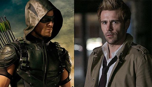 Arrow: Constantine sonunda yüzünü gösterdi