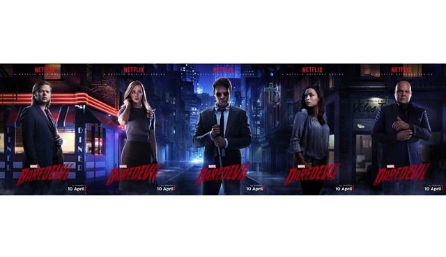 Yeni karakter posterleriyle Daredevil: Kim kimdir?