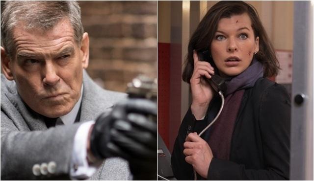 """Milla Jovovich ve Pierce Brosnan'ın rol aldığı """"Survivor/Ölümcül Takip"""" vizyona giriyor!"""
