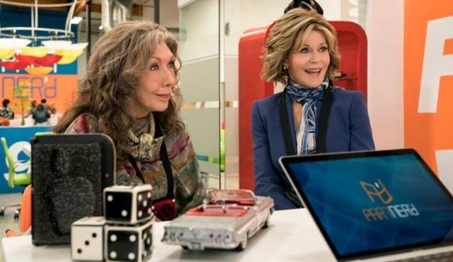 Grace and Frankie dizisi dördüncü sezon onayını aldı