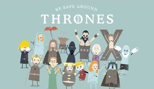 Game of Thrones'taki ölümlere bir de buradan bakın