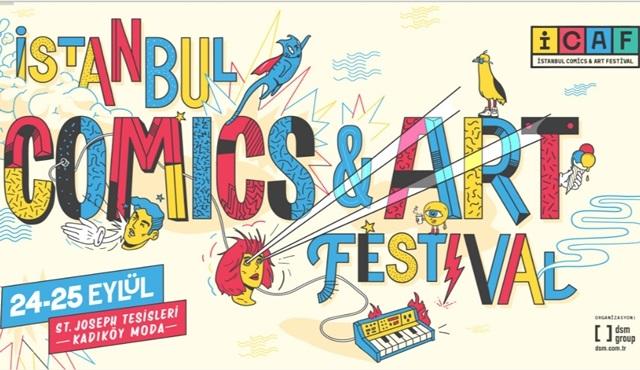 İstanbul Comics & Art Festival geliyor!