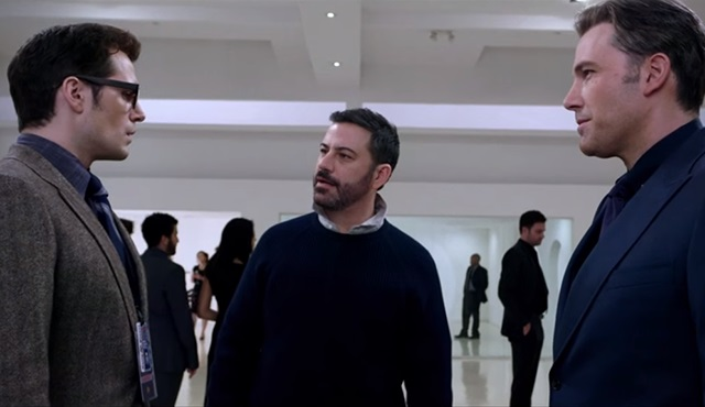 Jimmy Kimmel'den Batman v Superman skeci geldi