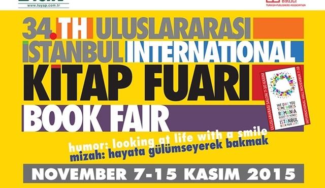 34. Uluslararası İstanbul Kitap Fuarı başlıyor!