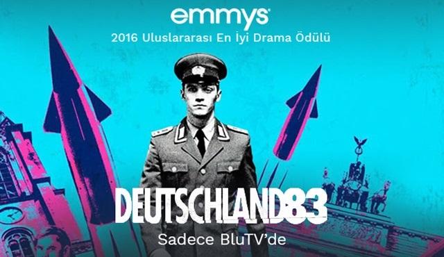 Emmy Ödüllü Deutschland 83 dizisi şimdi tüm bölümleriyle sadece BluTV'de!