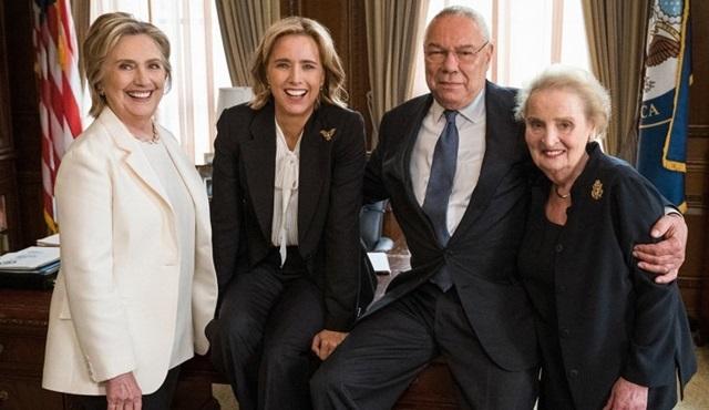 Hillary Clinton ve Colin Powell, Madam Secretary dizisine konuk oluyor
