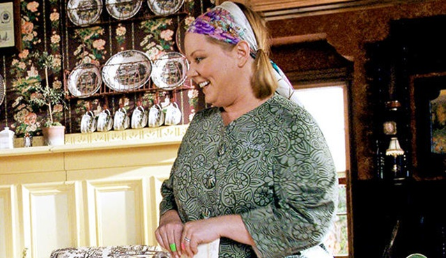 Melissa McCarthy, Gilmore Girls setinde poz verdi