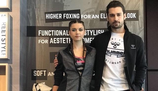 Afra Saraçoğlu ve Alp Navruz, Hummel Türkiye'nin 2018 yılı marka yüzleri oldu!