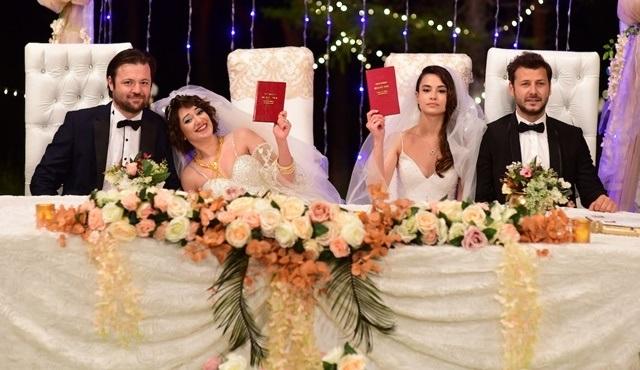 Kazara Aşk dizisinde bu hafta çifte düğün var!