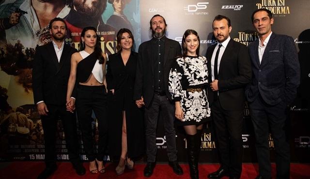 Türk İşi Dondurma filminin galası yapıldı!