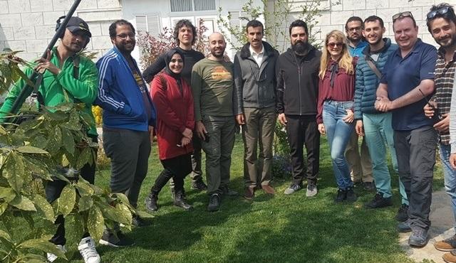 Katar'ın ünlü TV Programcısı Ali Bin Towar, Payitaht Abdülhamid setine geldi!