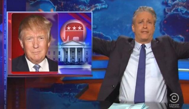 Jon Stewart'tan Donald Trump'a ağır eleştiriler geldi