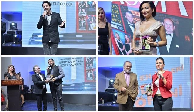 """""""Moon Life Yılın En İyileri"""" ödül töreninden Show Tv'ye ödül!"""