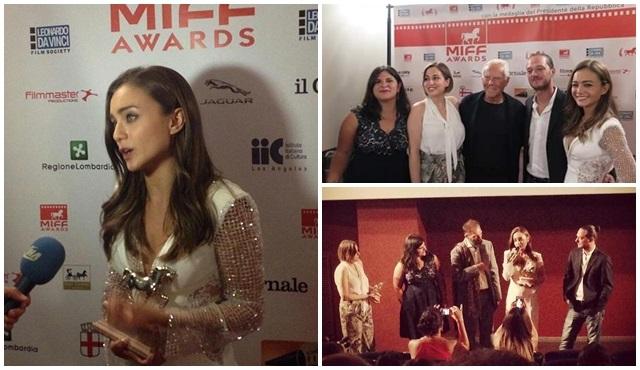 Damla Sönmez'e Milano Film Festivali'nden ödül!