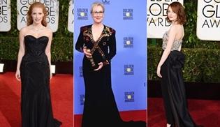 Kadın oyuncular cinsel tacizi protesto etmek için Altın Küre'de siyah giyinecek
