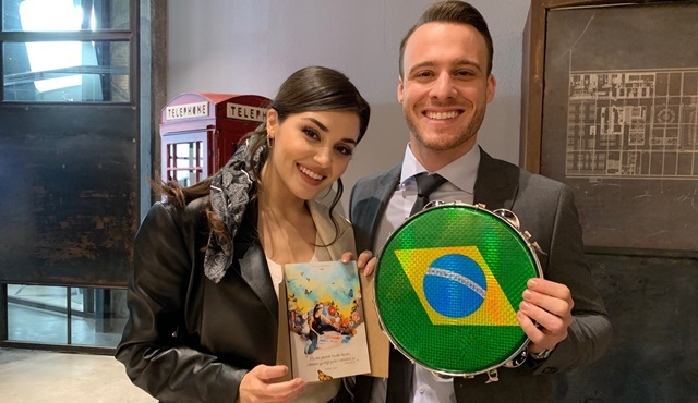 Sen Çal Kapımı setine Brezilya'dan hediyeler geldi!