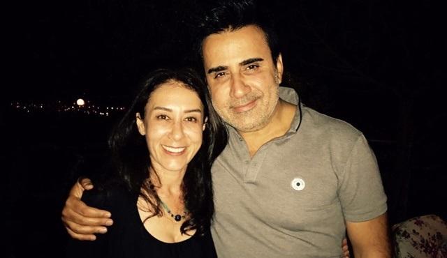 Ayşegül Ünsal'a Aşk ve Mavi ekibinden sürpriz doğum günü!