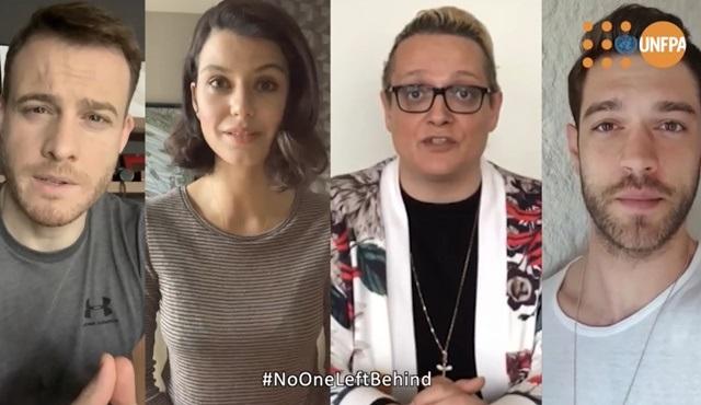 Sanatçılar korona ile mücadele için 'Yalnız değilsiniz' mesajı verdi!