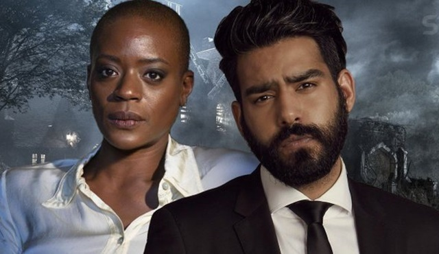 Rahul Kohli ve T'Nia Miller, The Haunting of Bly Manor'un kadrosunda