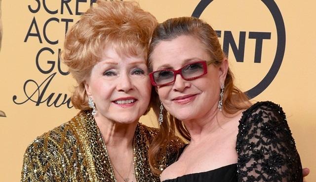 Carrie Fisher'ın ardından annesi Debbie Reynolds da vefat etti