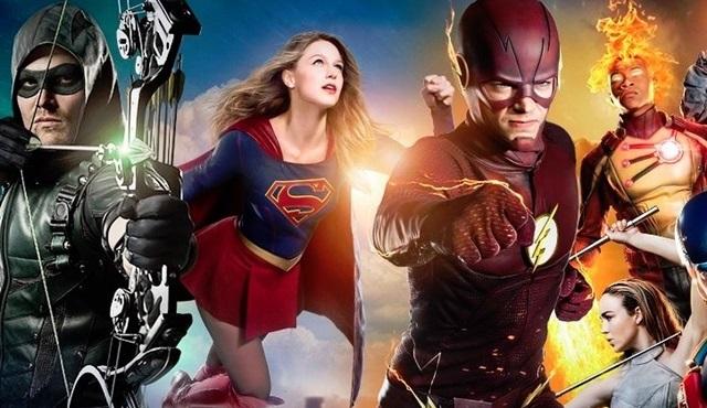 The CW'nun DC Comics dizileri için ortak yeni bir fragman yayınlandı