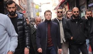 Tolga Sarıtaş'a Söz dizisinin çekimlerinde büyük ilgi!
