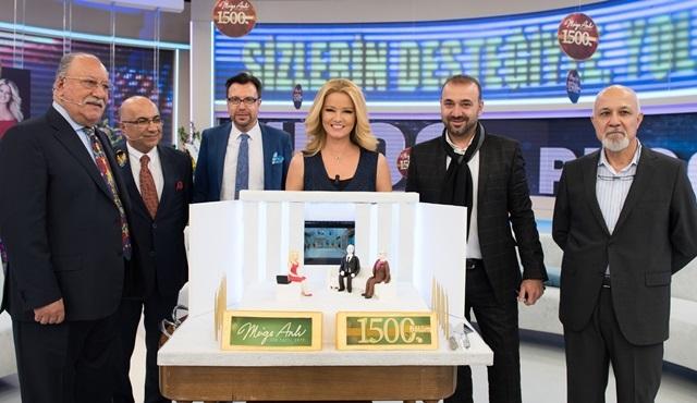 Müge Anlı ile Tatlı Sert, 1500'üncü bölümünü kutladı!