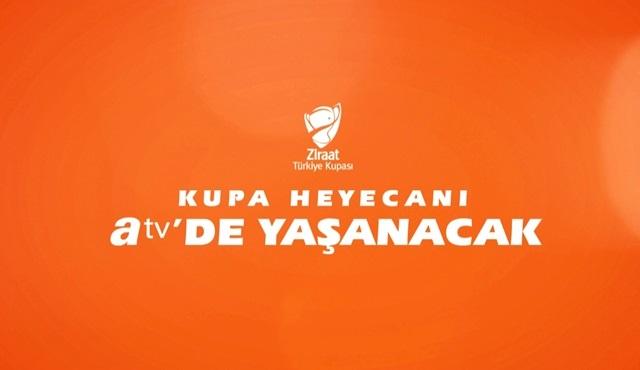 Trabzonspor ve Aytemiz Alanyaspor, Türkiye Kupası final rövanş maçı atv'de!