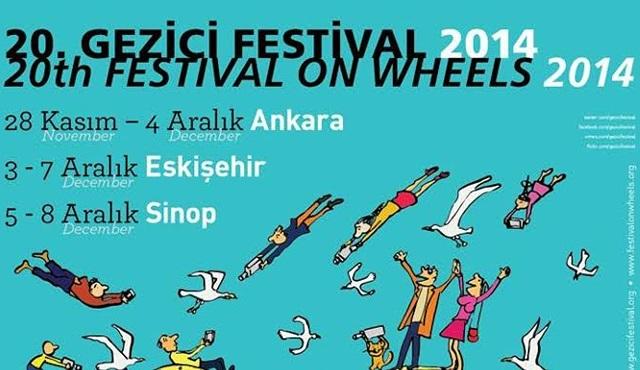 Gezici Festival başladı..