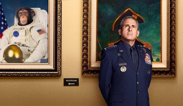Space Force, ilk ayında Netflix'te 40 milyon üye tarafından izlendi
