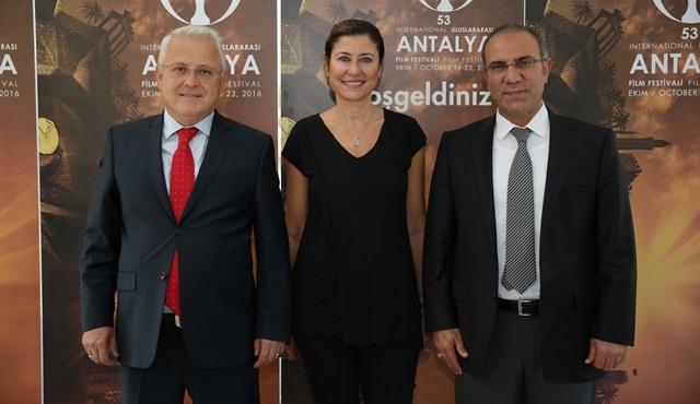 Uluslararası Antalya Film Festivali, yerel medya ile buluştu!