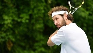 Furkan Palalı, Benim Tatlı Yalanım dizisi için tenis dersi aldı!