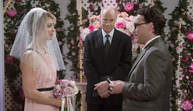 The Big Bang Theory: Penny ve Leonard düğününden ilk görüntüler
