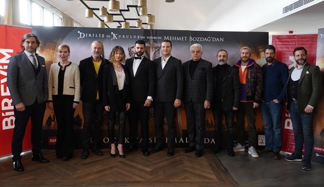 Türkler Geliyor: Adaletin Kılıcı ekibi basın toplantısı düzenledi!