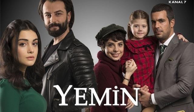 Yemin dizisi 4 ülkede daha yayına girecek