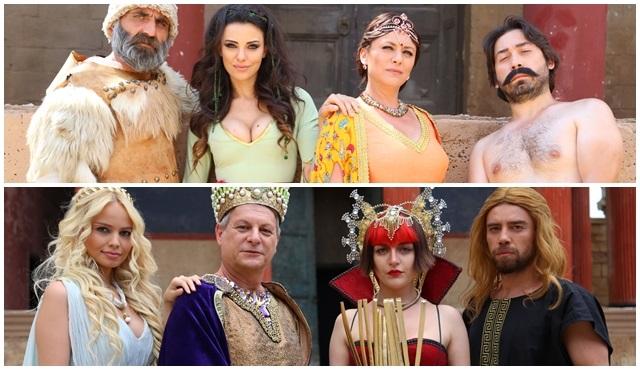Bizans Oyunları'nda aileler savaşıyor!