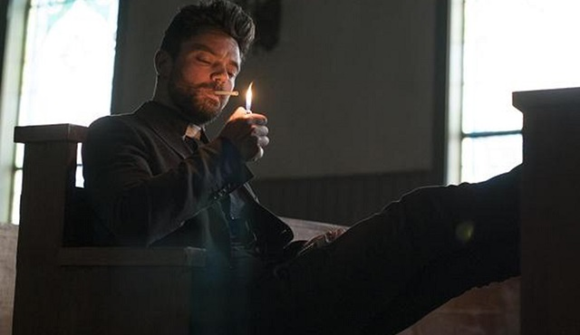AMC dizisi Preacher'dan ilk fotoğraflar gün yüzüne çıktı