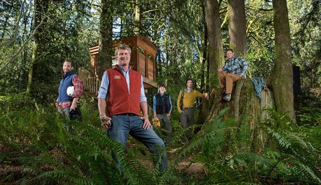 Ağaç Evi Ustaları, Animal Planet'te başlıyor