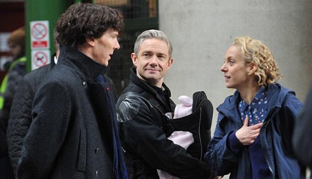Sherlock'un 4. sezon çekimleri bitti