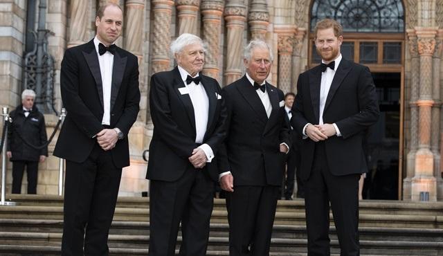 İngiliz Kraliyet Ailesi, Netflix prömiyerinde bir araya geldi!