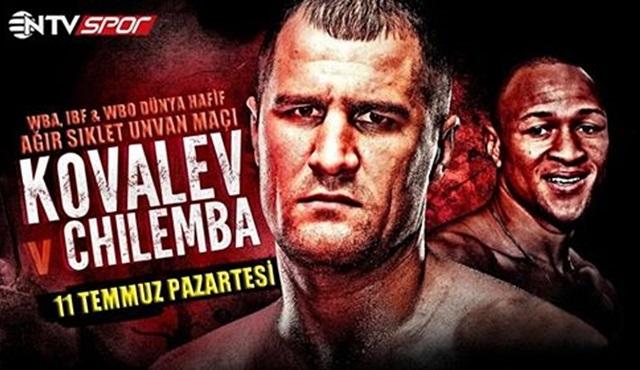 Kovalev vs Chilemba Boks Gecesi NTV Spor'da!
