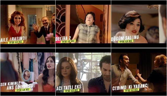 Gişe rekortmeni Türk filmleri televizyonda ilk kez Show TV'de!