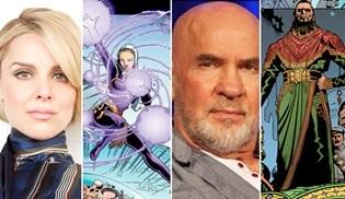 Cara Buono ve Mitch Pileggi, Supergirl'ün 5. sezonunun kadrosunda