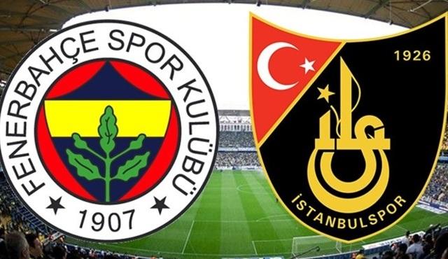 İstanbulspor - Fenerbahçe karşılaşması atv'de ekrana geliyor!