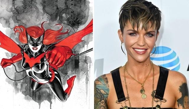 The CW dizilerinde Batwoman'ı Ruby Rose canlandıracak