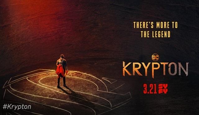 Superman'in gezegeni Krypton'u anlatan yeni diziden tanıtımlar gelmeye devam ediyor