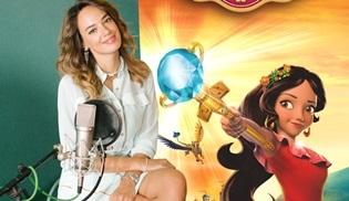 Seda Bakan, Disney'in yeni prensesi Elena'nın şarkılarını seslendirdi!