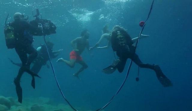 Hayat Şarkısı su altı çekimlerinden yeni görüntüler yayınlandı!